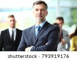 mature smiling business manager ... | Shutterstock . vector #793919176