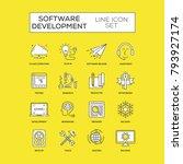 software development concept   Shutterstock .eps vector #793927174