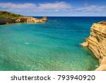 the most beautiful coast of...   Shutterstock . vector #793940920