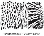 grunge tile line  decoration... | Shutterstock .eps vector #793941340