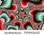 Pink Spiral Wave Fractal Swirl