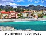 Panoramic View Of Promenade And ...