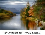 ulswater in the english lake... | Shutterstock . vector #793952068