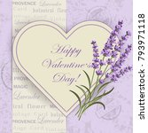 happy valentines day lettering...   Shutterstock .eps vector #793971118