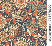 elegance seamless pattern with... | Shutterstock .eps vector #793978300