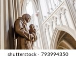 interior of christian catolic...   Shutterstock . vector #793994350