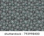 vector abstract winter... | Shutterstock .eps vector #793998400