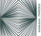 monochrome pattern in lines ... | Shutterstock .eps vector #794002810