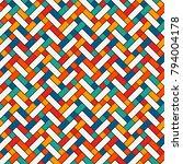 herringbone wallpaper. abstract ... | Shutterstock .eps vector #794004178