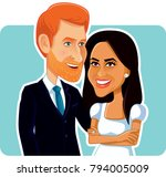 london  uk  15 january  meghan... | Shutterstock .eps vector #794005009