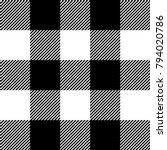 lumberjack. black  white ... | Shutterstock .eps vector #794020786