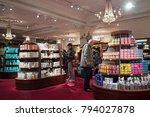 london  uk   circa january ... | Shutterstock . vector #794027878