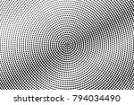 black and white dotted... | Shutterstock .eps vector #794034490