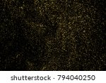 gold glitter texture isolated... | Shutterstock .eps vector #794040250