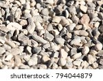 rubble on the construction site ... | Shutterstock . vector #794044879