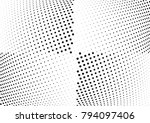 abstract halftone wave dotted... | Shutterstock .eps vector #794097406