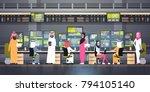 global online trading concept...   Shutterstock .eps vector #794105140