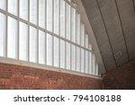 a modern metallic shell building | Shutterstock . vector #794108188