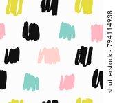 trendy vector seamless pattern... | Shutterstock .eps vector #794114938