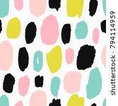 trendy vector seamless pattern...   Shutterstock .eps vector #794114959
