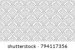 seamles dots pattern  abstract... | Shutterstock .eps vector #794117356