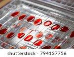 colony characteristics of... | Shutterstock . vector #794137756