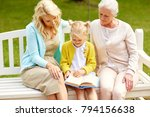 family  generation and people... | Shutterstock . vector #794156638
