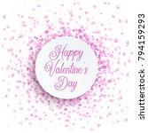 happy valentine s day... | Shutterstock .eps vector #794159293