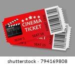 admit one tickets. vector...   Shutterstock .eps vector #794169808
