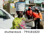 saint louis  senegal   apr 24 ... | Shutterstock . vector #794181820