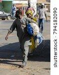 saint louis  senegal   apr 24 ... | Shutterstock . vector #794182090
