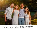 mother  father  son and... | Shutterstock . vector #794189170