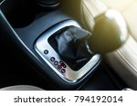 automatic transmission stick in ... | Shutterstock . vector #794192014
