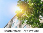 green community eco apartment... | Shutterstock . vector #794195980