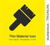 tool bright yellow material...