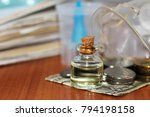 solution for inhalation in the... | Shutterstock . vector #794198158