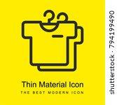 shirts bright yellow material...