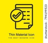 approve invoice bright yellow...