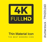 4k fullhd bright yellow...