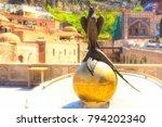tbilisi  georgia   april 24 ... | Shutterstock . vector #794202340