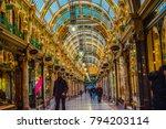 leeds  yorkshire  england uk.... | Shutterstock . vector #794203114