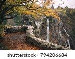 stone paved observation deck  ... | Shutterstock . vector #794206684