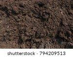 Soil Texture Closeup