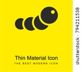 caterpillar bright yellow...   Shutterstock .eps vector #794211538