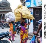 kathmandu  nepal   06 october... | Shutterstock . vector #794214898