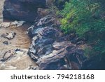 waterfall in national park of... | Shutterstock . vector #794218168