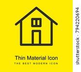 home button bright yellow...