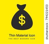 money bag with dollar symbol...