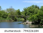 a peaceful day in central park  ... | Shutterstock . vector #794226184