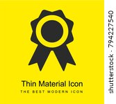 sport recognition ribbon badge...